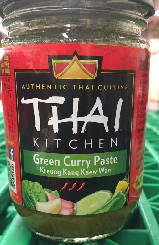 Green Curry Paste - Product - fr
