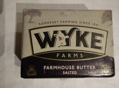 Farmhouse butter - salted - Product