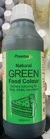 Natural Green Food Colour - Produkt - en