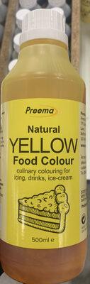 Natural yellow food colour - Produit