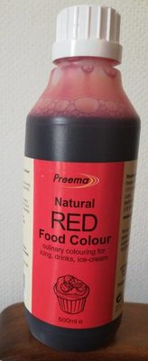 Natural Red food colour - Product - fr