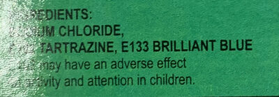Green Food Colour Powder - Ingrediënten - en