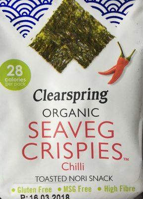 Seaveg Crispies Chilli - Produit - fr
