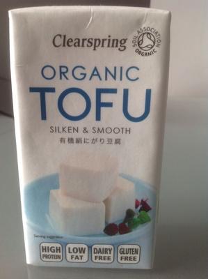 Organic tofu silken & smooth - Produit