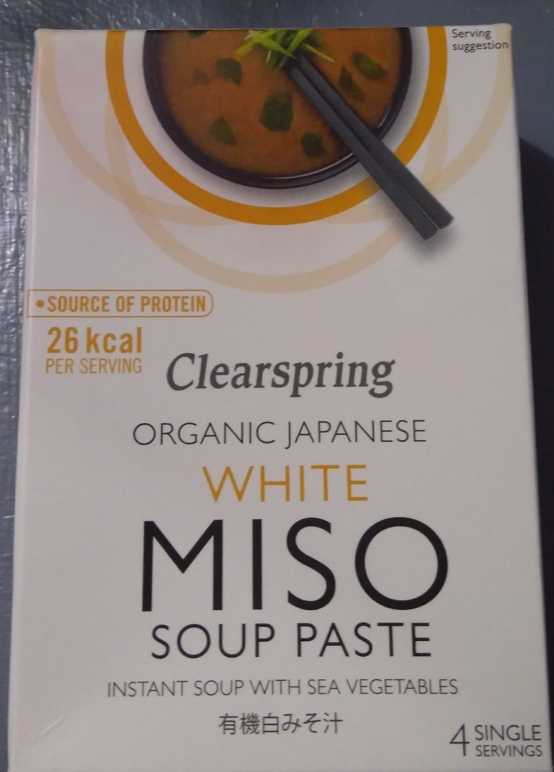 Organic Instant White Miso Soup Paste - Product