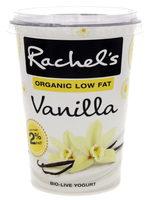 Rachel's Organic Low Fat Vanilla yogurt - Product