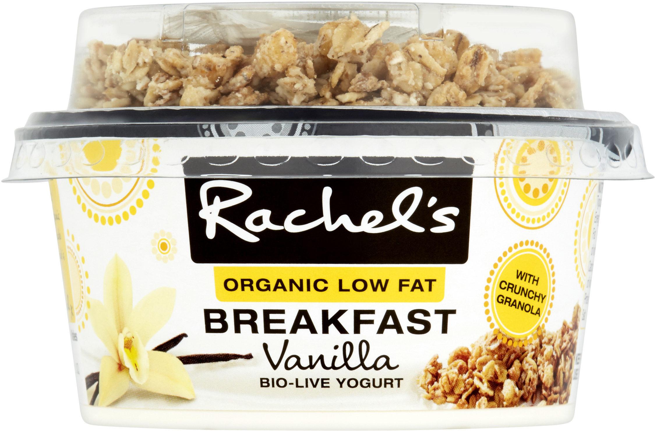 Rachel's Organic Low Fat Breakfast Vanilla Yogurt - Product