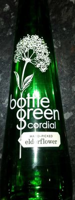 Bottle of Green Cordial (Handpicked Elderflower) - Produit - fr