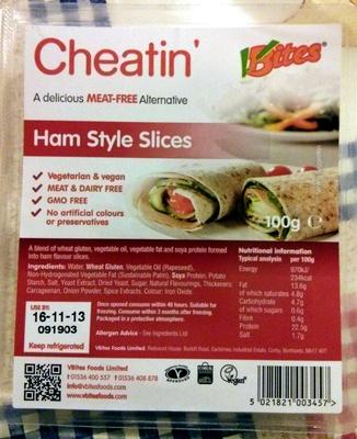 Cheatin' Ham Style Slices - Product - fr