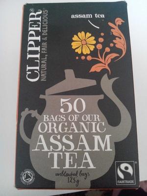 Organic assam tea - Produkt