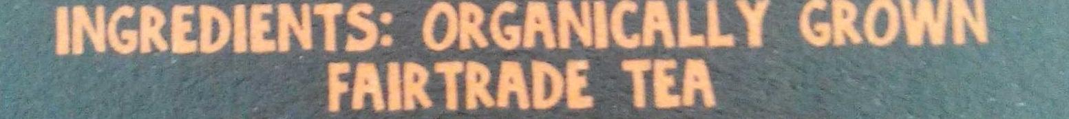 Organic assam tea - Inhaltsstoffe - fr