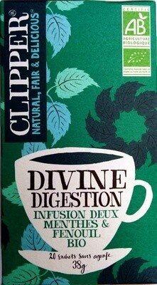 Divine digestion infusion deux menthes & fenouil bio - Product - fr