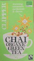 Chai organic green tea - Product - en
