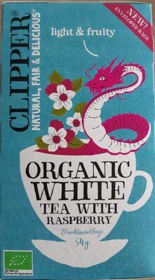 Organic white tea with raspberry - Produit - fr
