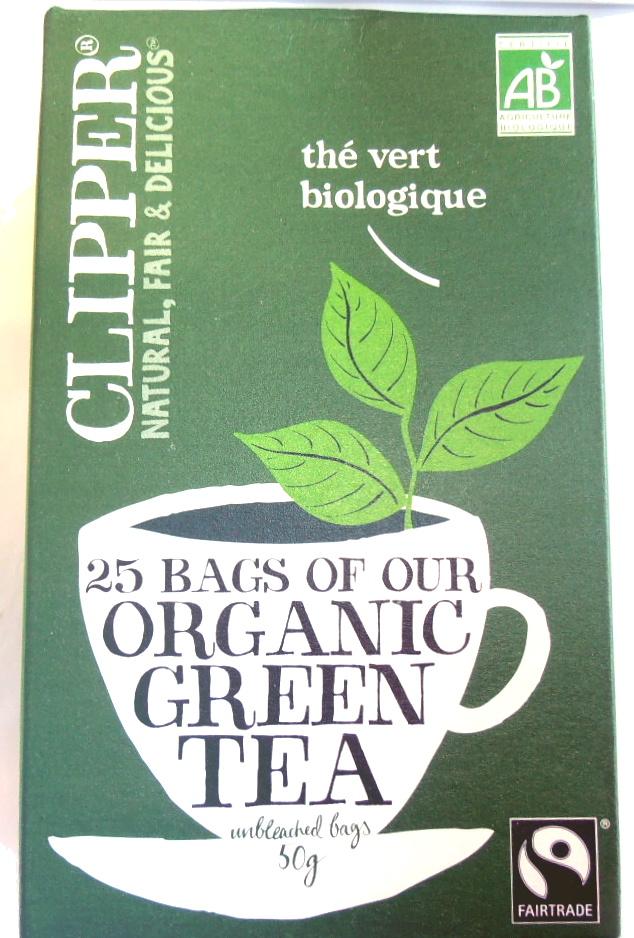 Thé vert biologique - Product