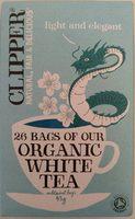 Clipper Organic White Tea X26 Tea Bags - Produit