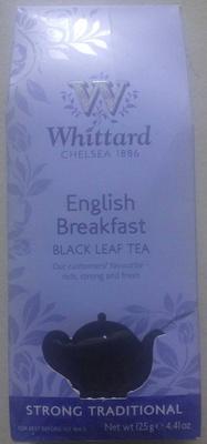 English Breakfast Black Leaf Tea - Product - fr