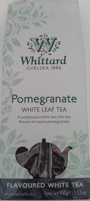 Pomegranate white leaf tea - Product