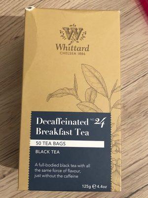 Decaffeinated breakfast tea n 24 - Product