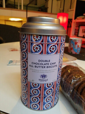 Double chocolate chip all butter biscuits - Product