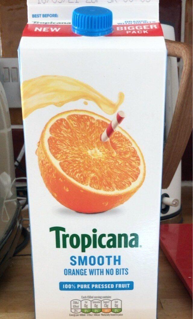 Tropicana Smooth Orange with no bits - Product - en