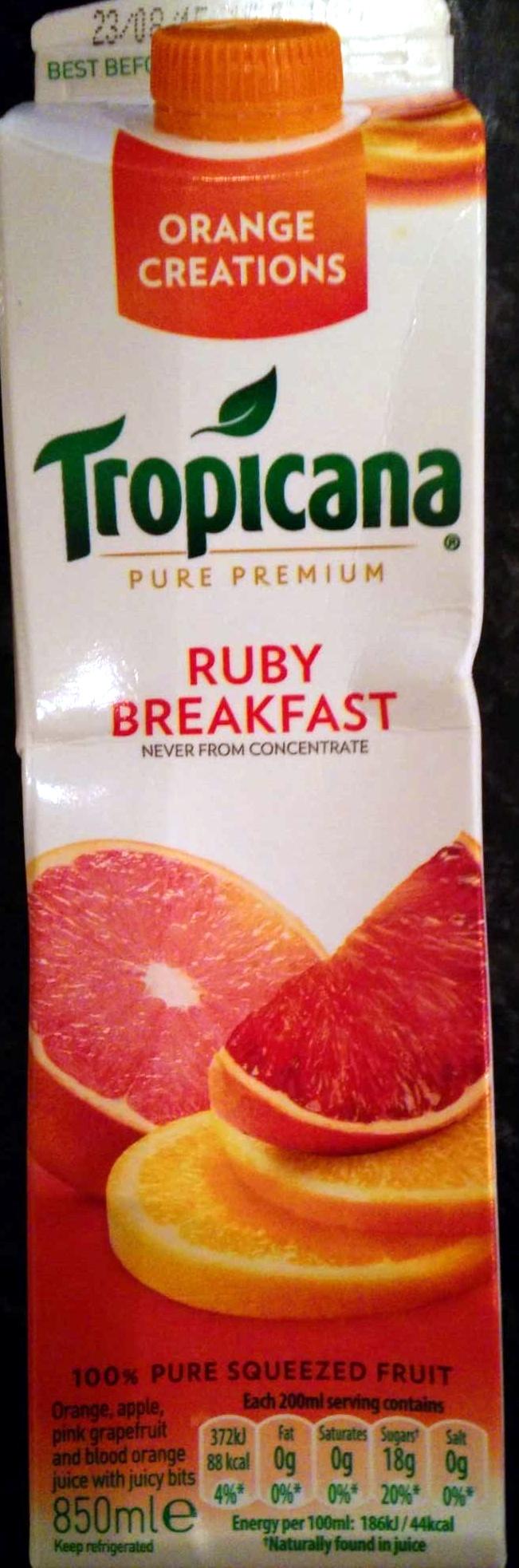 Ruby Breakfast Juice - Product - en