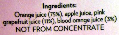 Ruby Breakfast Juice - Ingredients - en