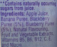 Naked - Ingredients