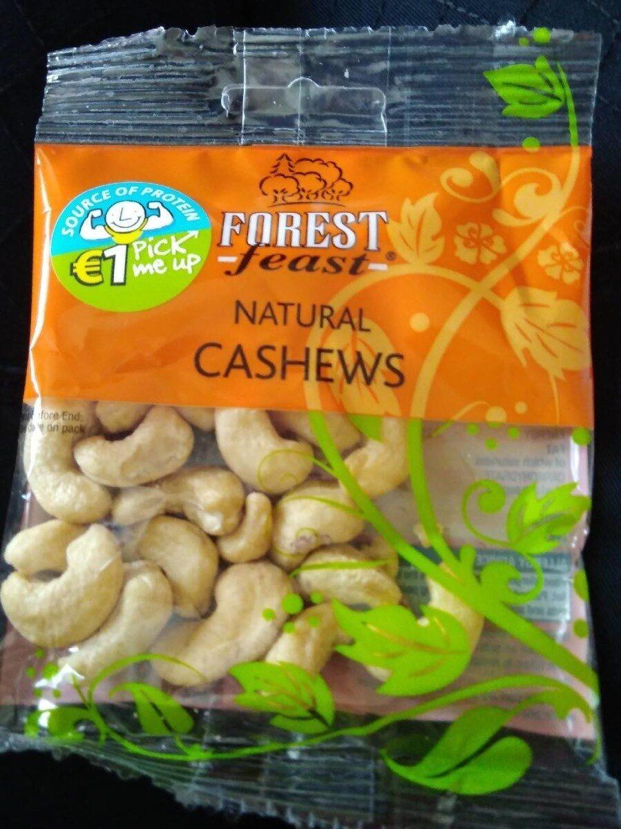 Natural cashews - Produit