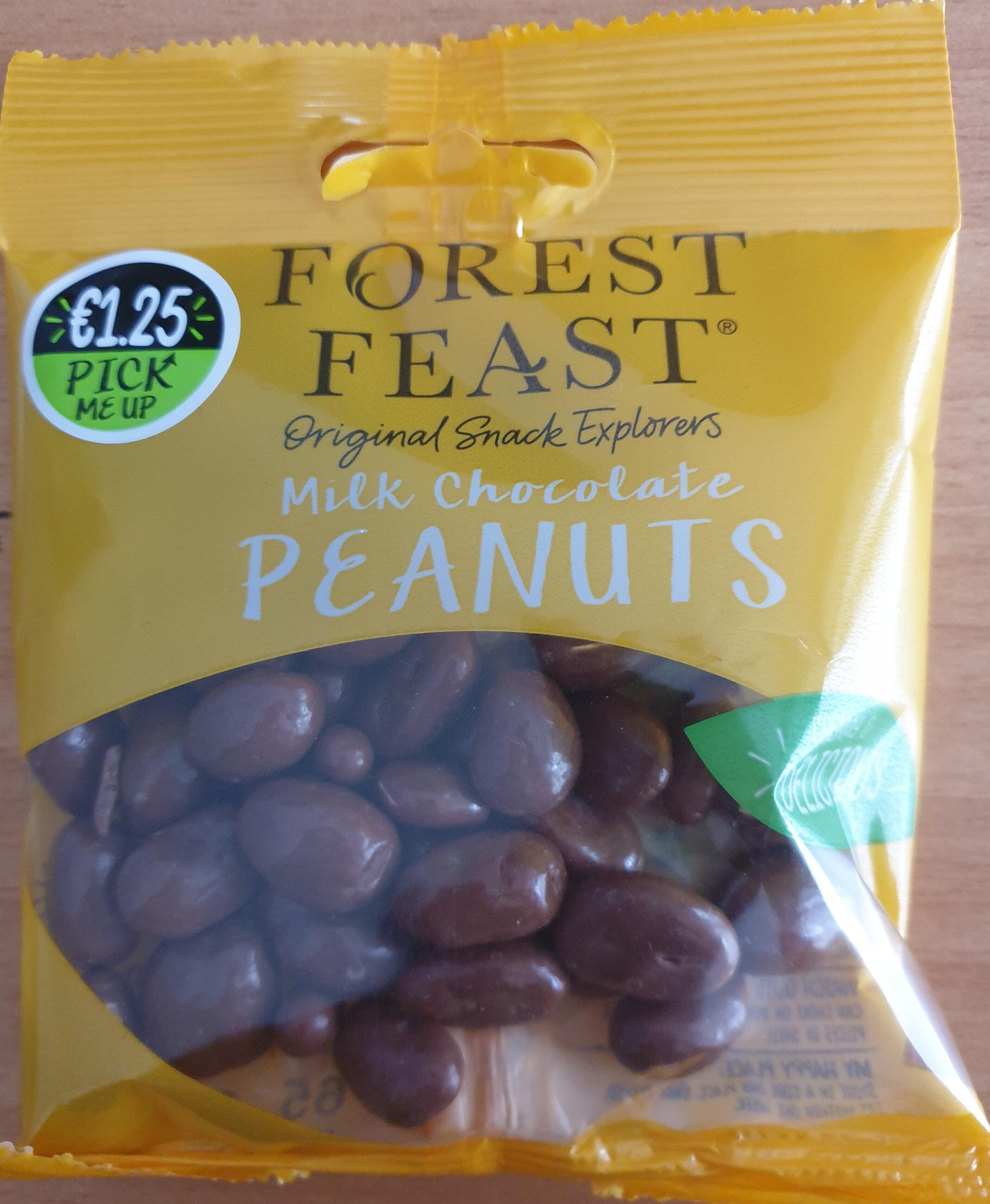 Milk Chocolate Peanuts - Produit - en