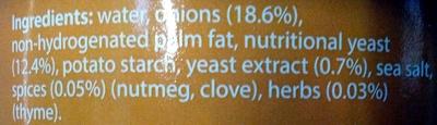 Vegetable Pate - Ingredients - en