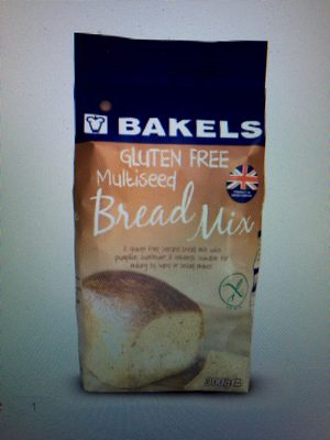 Gluten Free Multiseed Bread Mix - Product