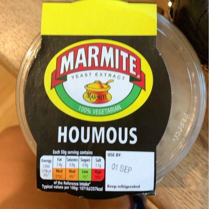 Marmite Houmous - Product - en