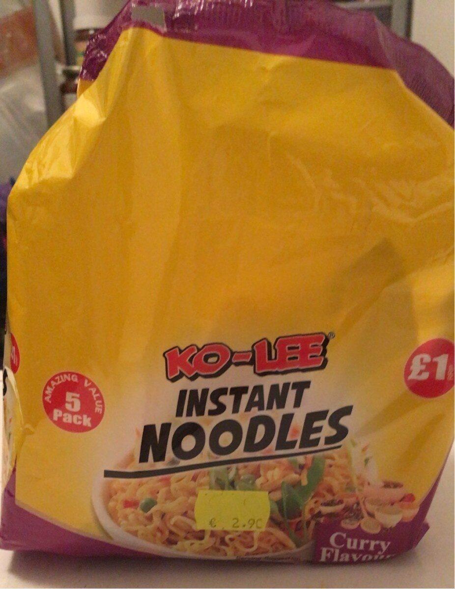 Ko lee instant noodles - Produit - en