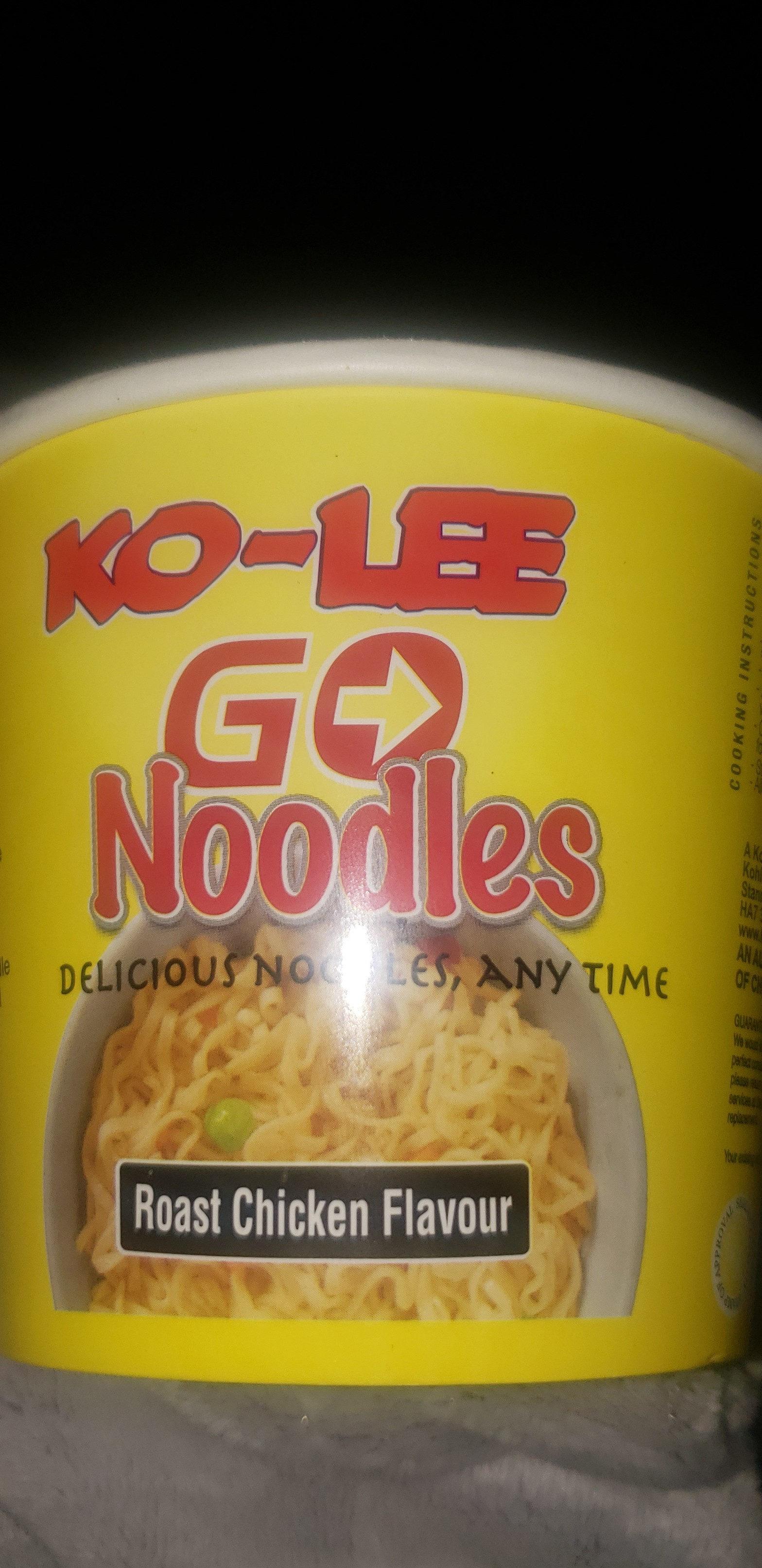 Ko-lee Go Noodles Roast Chicken 65G - Produit