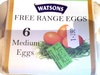 Free range eggs - Product