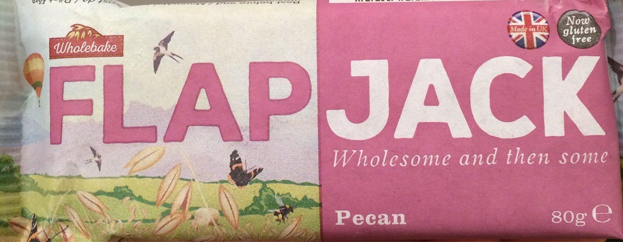 Wholebake Pecan Flapjack - Prodotto - fr