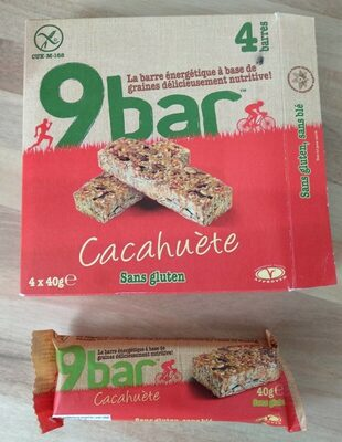 9bar cacahuète sans gluten - Produit - fr