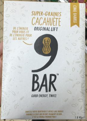 Super-Graines Cacahuète Original Lift Bar - Product