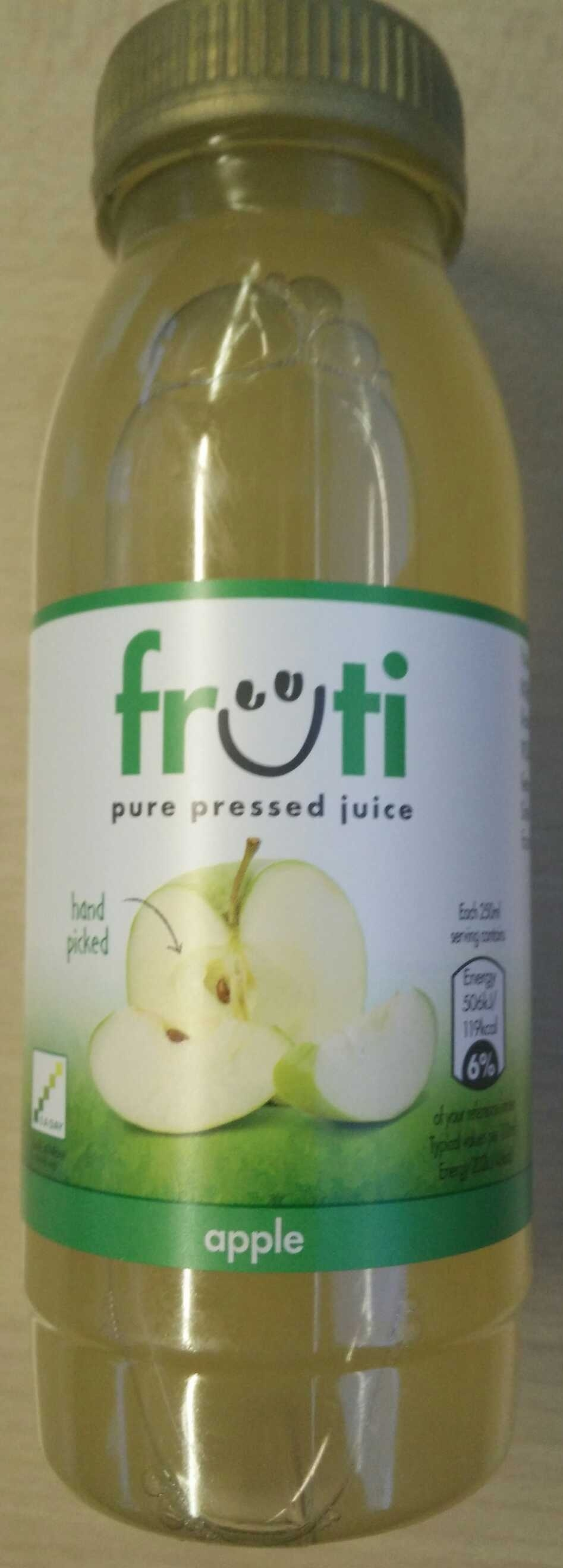 Pure pressed juice - Apple - Produit - en