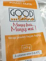 Wrap Poulet Fajita - Product - fr