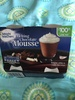 Melting chocolate mousse - Produit