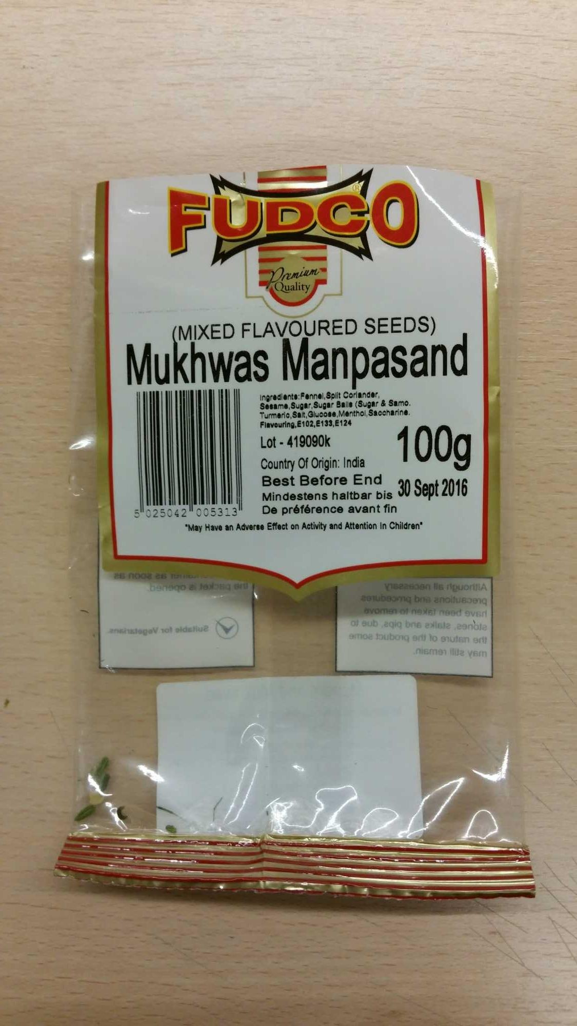 Mukhwas Manpasand - Product - fr
