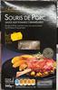 Souris de Porc Sauce aux pommes caramélisées - Produit