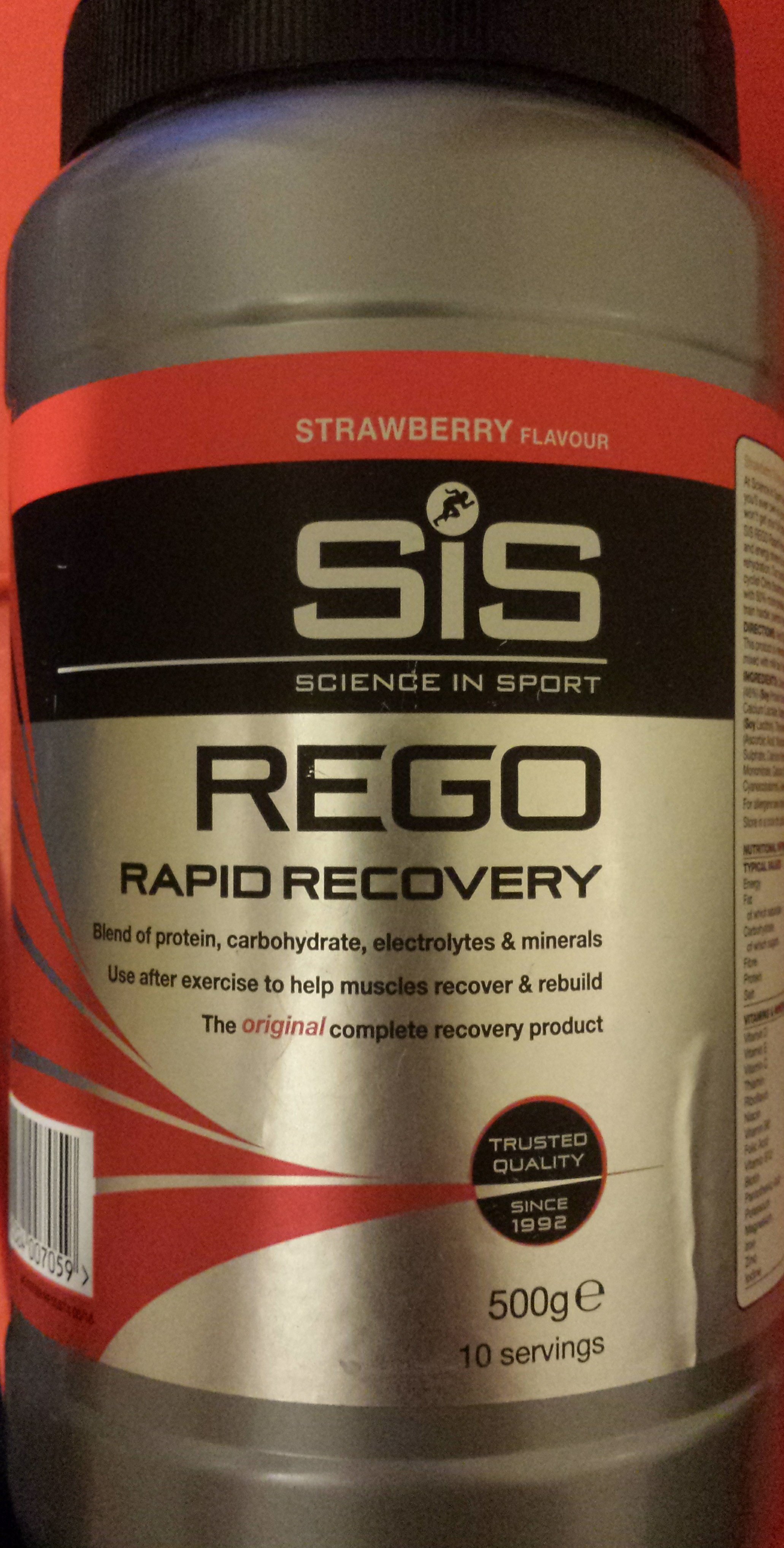 Rego Rapid Recovery - Strawberry - Product - en