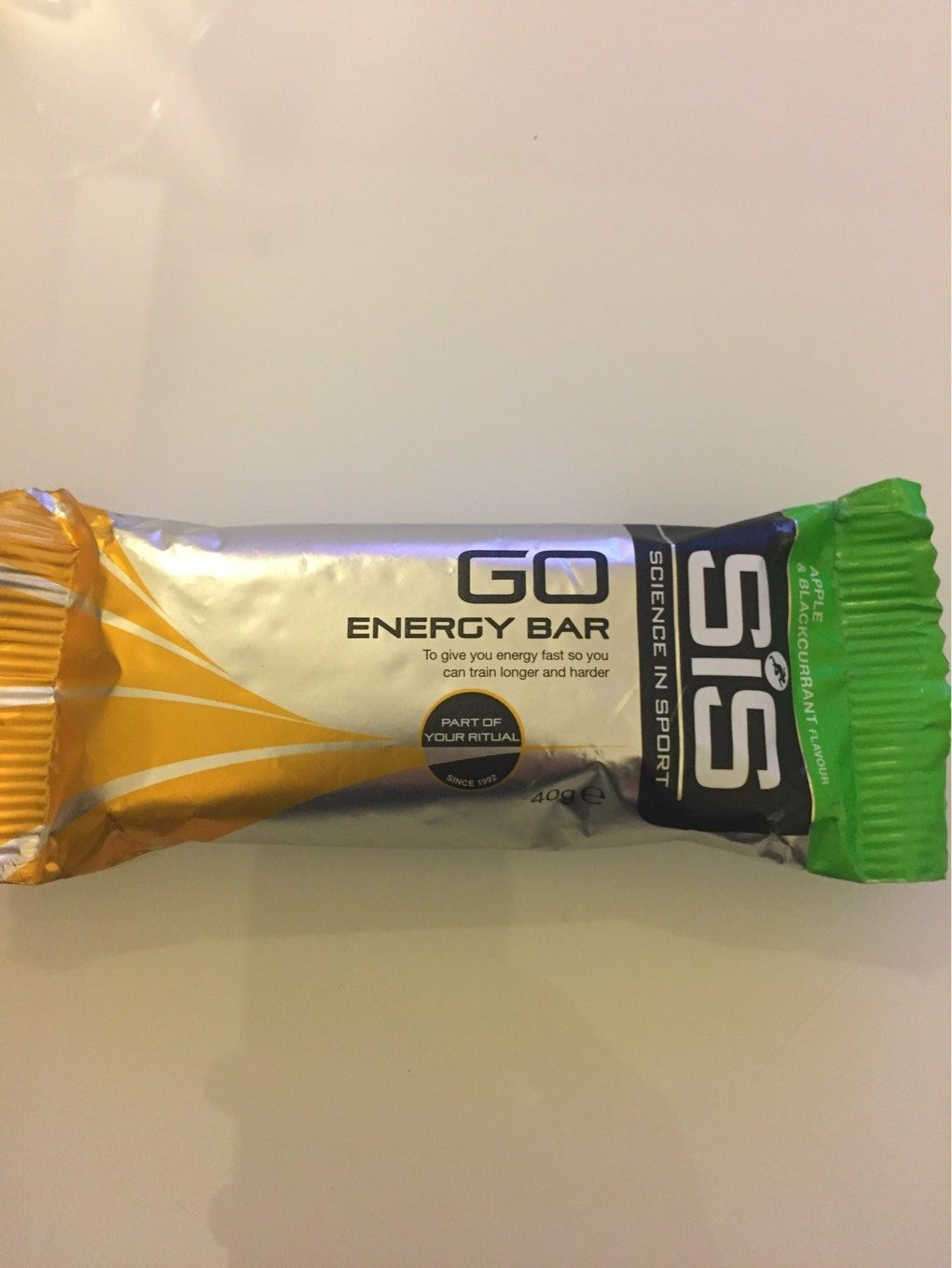 Barre Energetique Sis Go Energy 40GR - Product