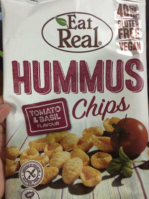 Hummus Chips Tomato & Basil Flavour - 25