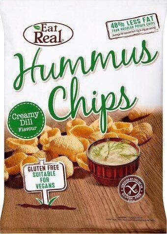 Hummus Chips Creamy Dill Flavour - Prodotto - en