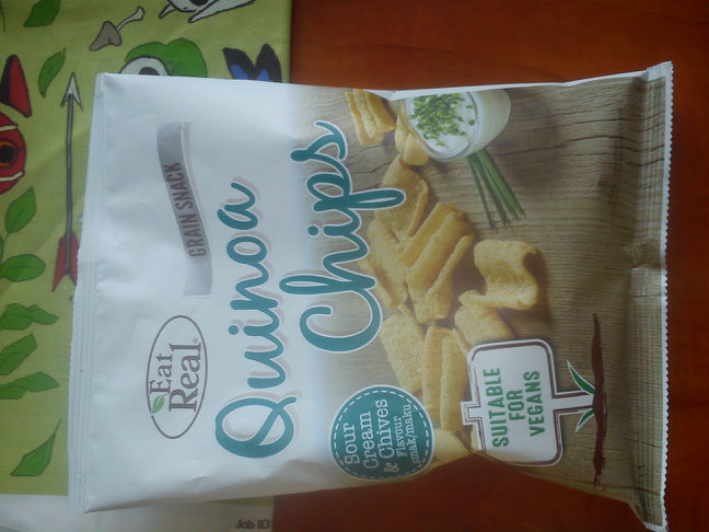 Quinoa chips - Produkt - cs