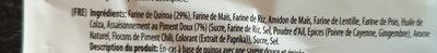 Quinoa chips - Ingredients - fr